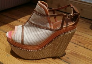 Missoni Wedges mit Plateau