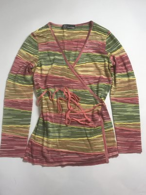 Missoni Knitted Wrap Cardigan multicolored