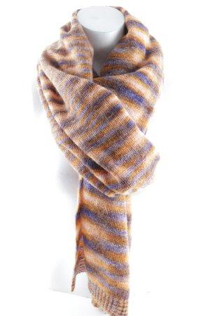 Missoni Wollschal orange-lila Farbverlauf Vintage-Look