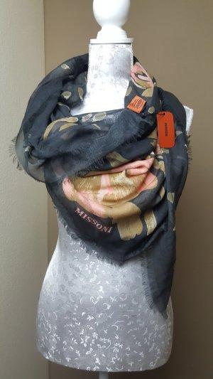 Missoni Zijden sjaal antraciet