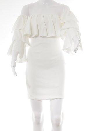 MissyEmpire Abendkleid weiß Elegant