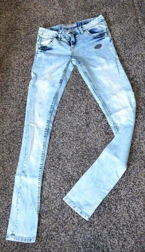 Mister*Lady Jeans MULTIBLU Denim - Used Look - Destroyed Look (W36-L34)