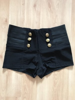 mister*lady Hot Pants black-gold-colored