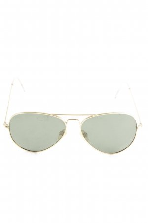 Mister Spex Aviator Glasses gold-colored casual look