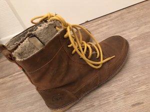 Mistral Stiefel Boots Schuhe Gr.40 Surf Stiefeletten braun gelb top Damen