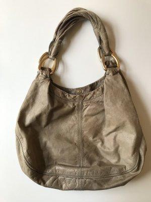 Miu Miu Comprador marrón grisáceo-taupe Cuero