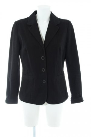 Mitch & Co. Jerseyblazer schwarz Business-Look