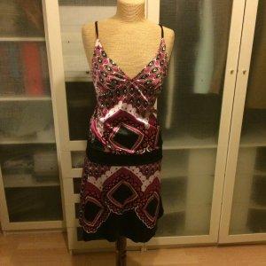 Mitika Kleid mit Muster Gr. S top Zustand