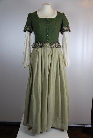 Peplum jurk veelkleurig Katoen