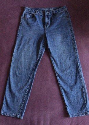 Noisy May 7/8 Length Jeans cornflower blue-steel blue