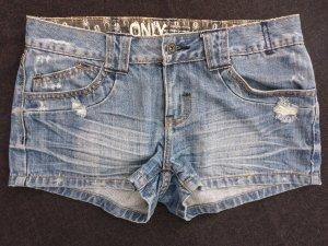 Mittelblaue Jeansshorts in Gr. 27 von Only