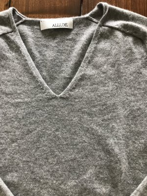 Allude Sweater dark grey-grey cashmere