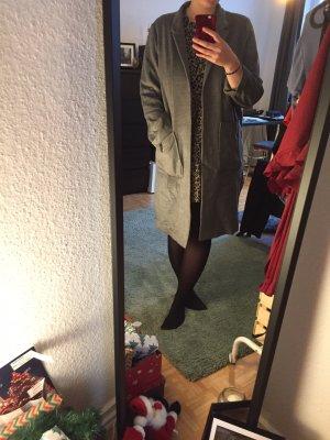 H&M Abrigo de entretiempo gris oscuro-gris