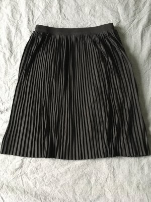 Jaqueline de Yong Pleated Skirt black polyester