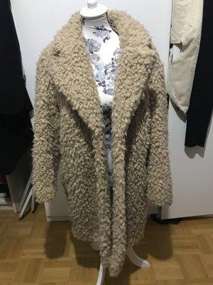 Mittellanger Teddy Mantel Teddy Jacke Teddy coat Musthave S