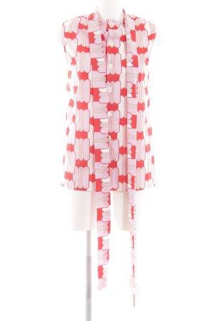 Miu Miu ärmellose Bluse abstraktes Muster 60ies-Stil