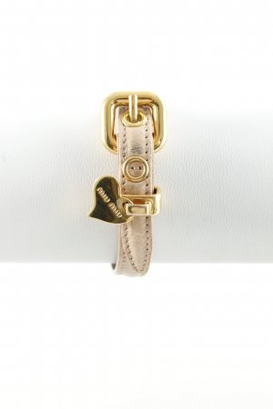 Miu Miu Bracelet dusky pink-gold-colored romantic style