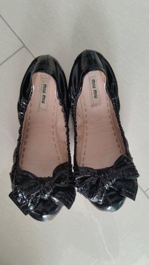 miu miu Ballerinas Gr. 36