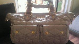 MIU MIU  Bauletto in Tessuto Grau Leder Luxus Pur!
