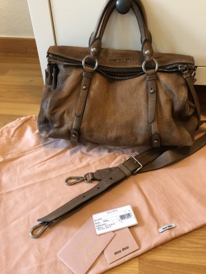 Miu Miu Carry Bag multicolored leather