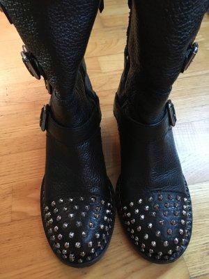 Miu miu Boots Stiefel NP 990 Nieten