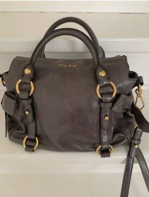 Miu miu bow bag by prada grau small