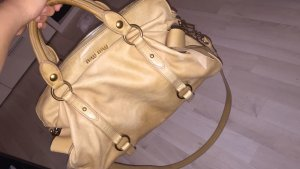 Miu Miu bow Bag Dunklem beige