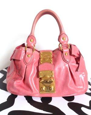 Miu Miu Bowling Bag multicolored leather