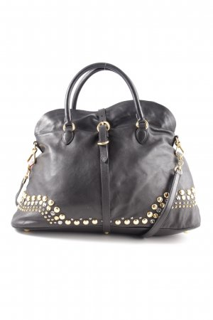 Miu Miu Bowling Bag black-gold-colored