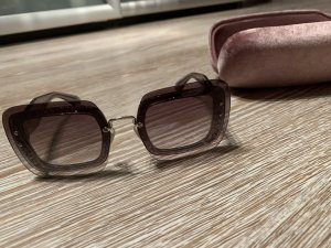 Miu Miu Bril roze-zilver