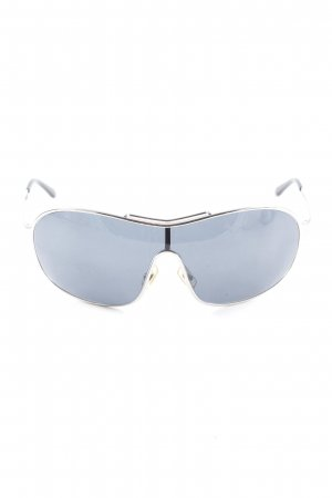 Miu Miu Glasses silver-colored-black street-fashion look