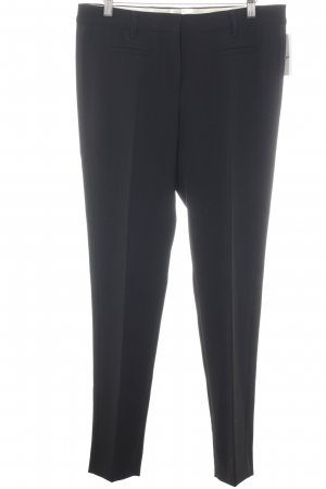 Miu Miu Bundfaltenhose schwarz Business-Look