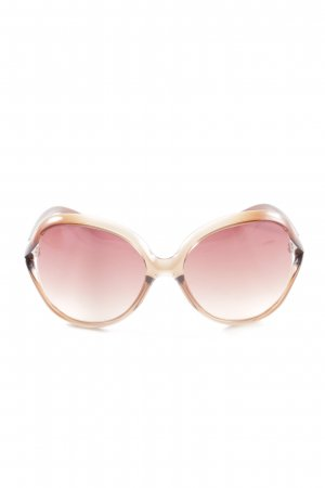 Miu Miu Butterfly Glasses bronze-colored-pink casual look