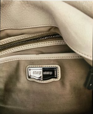 Miu Miu Carry Bag oatmeal leather