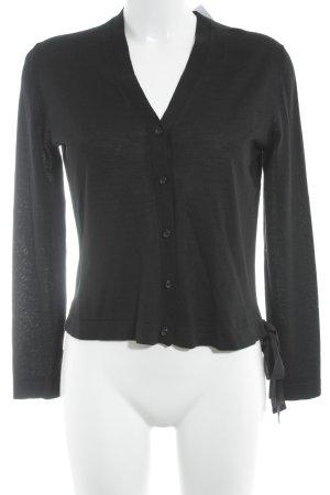 Miu Miu Cardigan schwarz schlichter Stil