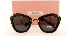 Miu Miu Glasses black synthetic material