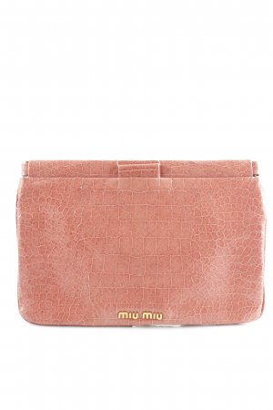 Miu Miu Clutch apricot Casual-Look