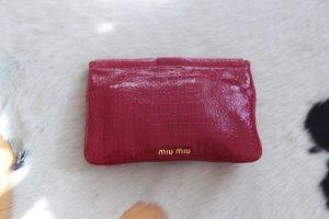 Miu Miu Clutch in Rot