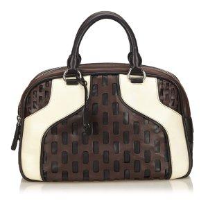 Miu Miu Cutout Leather Handbag