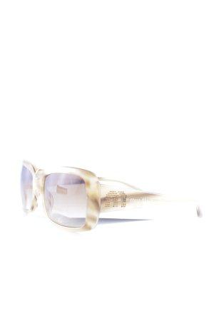 Miu Miu eckige Sonnenbrille beige Casual-Look