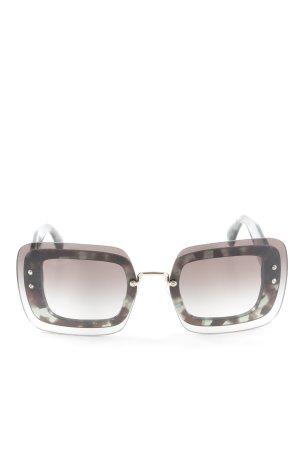 "Miu Miu Hoekige zonnebril ""SMU02R"""
