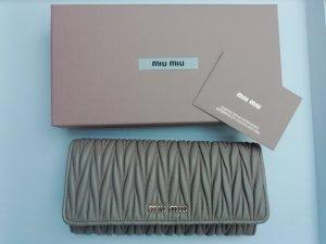 Miu Miu Wallet dusky pink