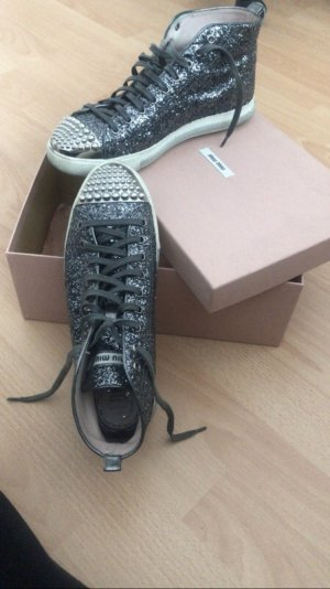 Miu Miu Glitzersneakers