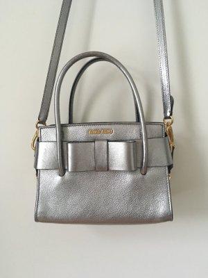 Miu Miu Bolso color plata-color oro