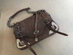 Miu Miu Bolsa coñac-marrón