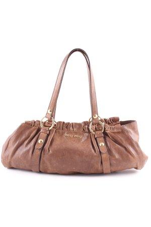 Miu Miu Handbag brown casual look