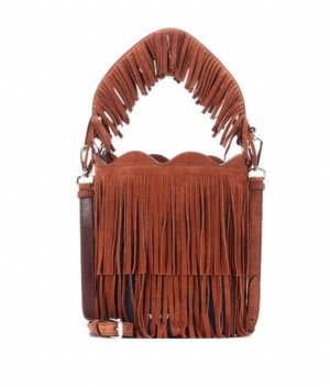 Miu Miu Fringed Bag brown