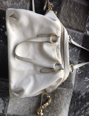 Miu Miu Handtasche in weiß