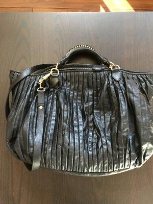 #Miu Miu #Handtasche Leder schwarz