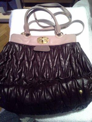 Miu Miu Carry Bag grey lilac-light grey leather